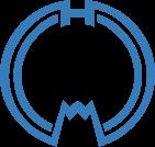 利尻富士町のロゴ